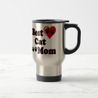 Best Cat Mom Merchandise for Mother's Travel Mug