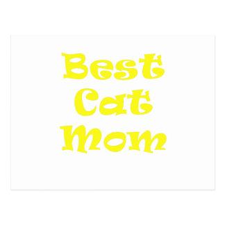 Best Cat Mom Postcard