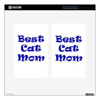 Best Cat Mom Kindle Fire Skins