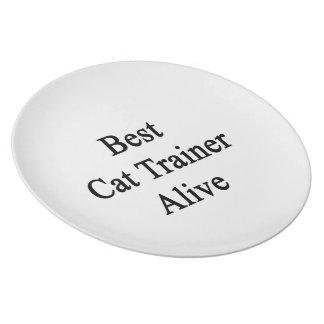 Best Cat Trainer Alive Dinner Plates