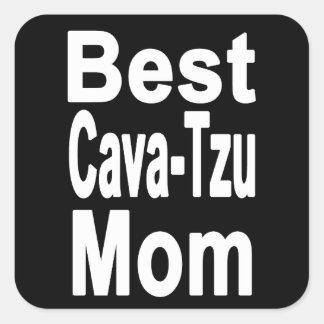 Best Cava-Tzu Mom Sticker Dog