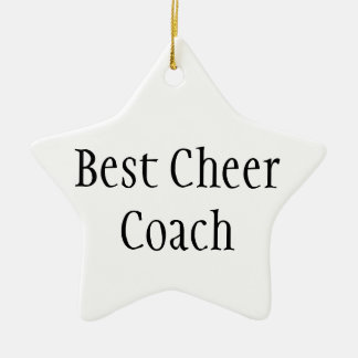Best Cheer Coach Ornaments