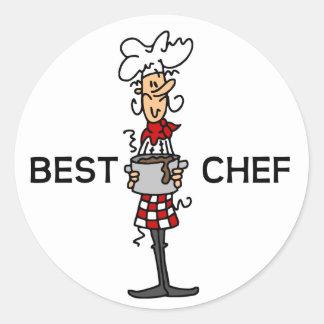 Best Chef Classic Round Sticker