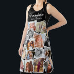 "Best Chef Ever Modern Photo Collage All over Print Apron<br><div class=""desc"">Create your very own unique apron with this all over print modern photo collage. Featuring customizable text - 'Name or Person' a cute little white heart and the text BEST CHEF EVER.</div>"