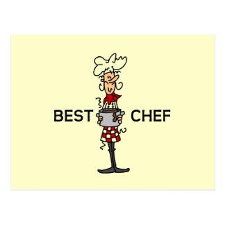 Best Chef Postcard