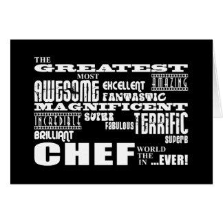 Best Chefs Birthdays : Greatest Chef Card