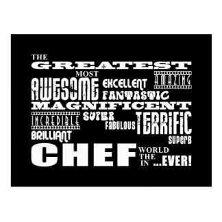 Best Chefs Birthdays : Greatest Chef Postcard