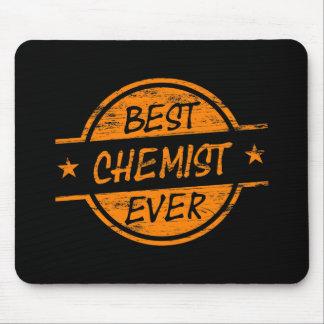 Best Chemist Ever Orange Mouse Pad