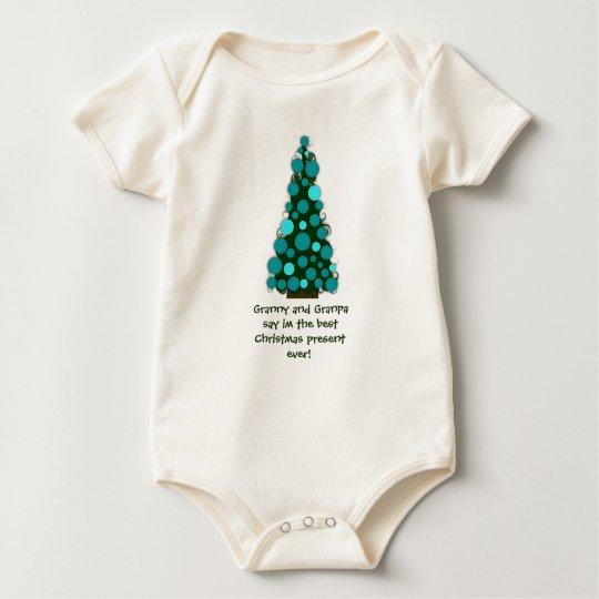 Best Christmas Present Ever Baby Bodysuit