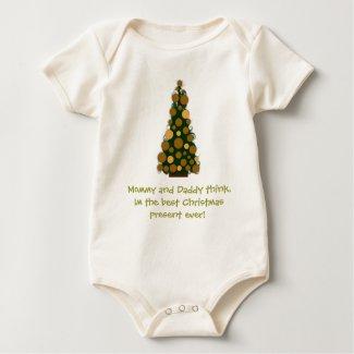 Best Christmas Present Ever Onesie shirt