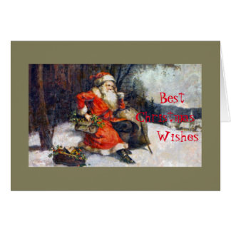 Best Christmas Wishes Greeting Card