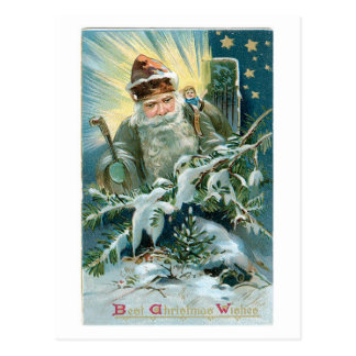 Best Christmas Wishes Postcard