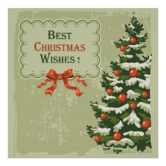 Best Christmas Wishes Poster