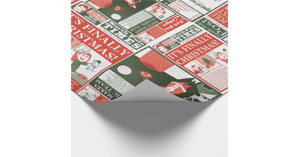 Best christmas wrapping paper ever zazzle for Best christmas wrapping paper