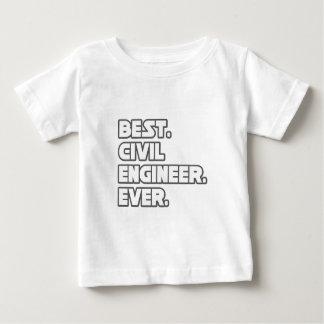 Best Civil Engineer Ever Baby T-Shirt