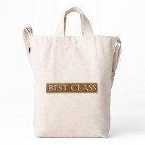 Best Class Text Duck Bag