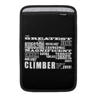 Best Climbers Greatest Climber MacBook Air Sleeve