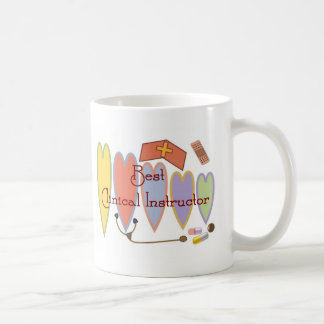 BEST CLINICAL INSTRUCTOR COUNTRY HEARTS MUGS
