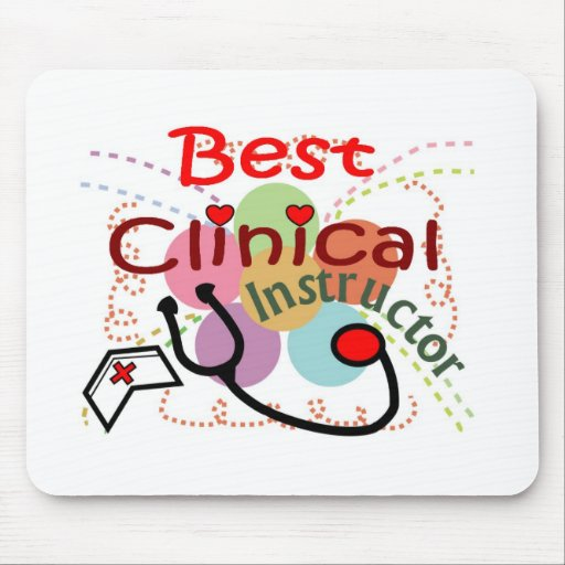 Best Clinical Instructor Gifts Mouse Pad