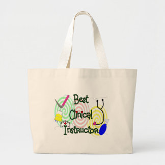 Best Clinical Instructor Nursing Gifts Jumbo Tote Bag