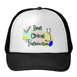 Best Clinical Instructor Nursing Gifts Mesh Hats