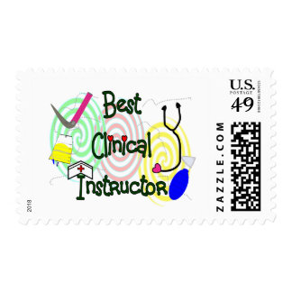 Best Clinical Instructor Nursing Gifts Stamps