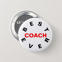 Best Coach Ever Button