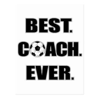 Best Coach Ever Postcard