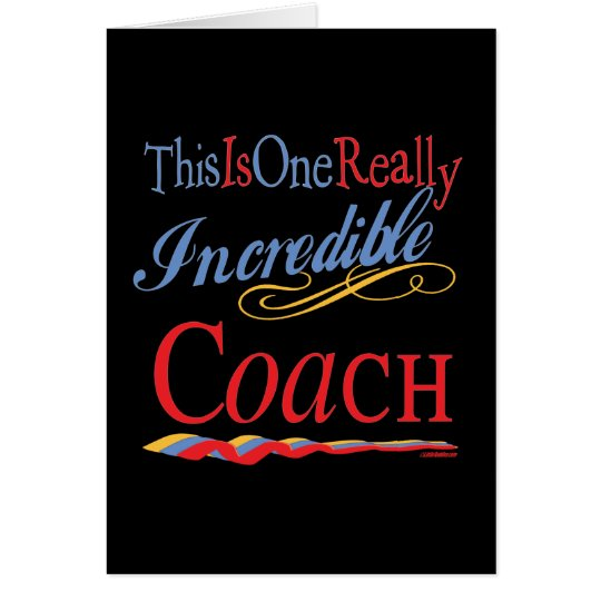 Best Coach Gifts Card