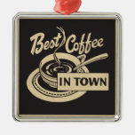 Best Coffee in Town Christmas Ornament