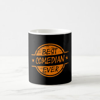 Best Comedian Ever Orange Coffee Mugs