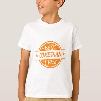 Best Comedian Ever Orange T-Shirt
