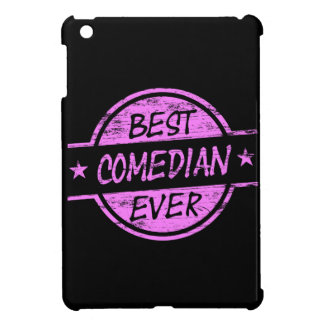 Best Comedian Ever Pink iPad Mini Case