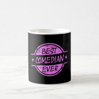 Best Comedian Ever Pink Coffee Mug