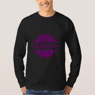 Best Comedian Ever Purple T-Shirt