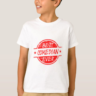 Best Comedian Ever Red T-Shirt