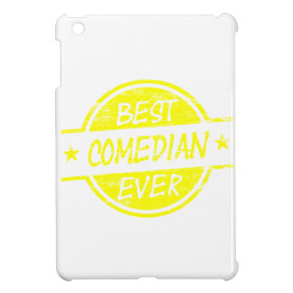 Best Comedian Ever Yellow iPad Mini Cover