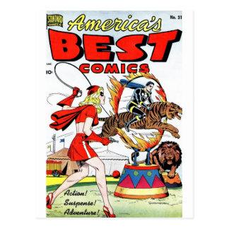 Best Comics #31 Postcard