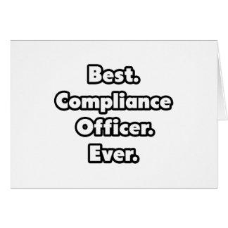 Best. Compliance Officer. Ever. Card