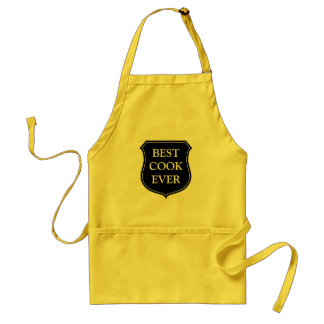 Best cook ever | yellow BBQ apron for men