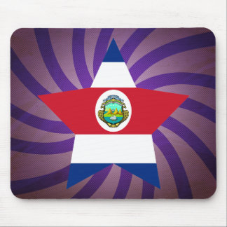 Best Costa Rica Flag Design Mouse Pad