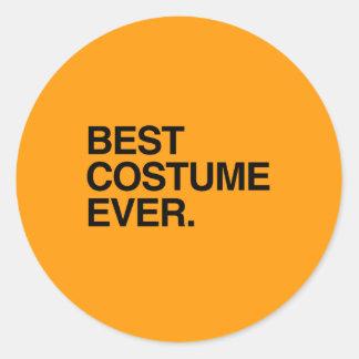 BEST COSTUME EVER - Halloween -.png Round Sticker