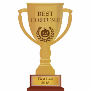 Best Costume Trophy Photo Sculpture  sc 1 st  Zazzle & Costume Photo Statuettes Cutouts u0026 Sculptures | Zazzle