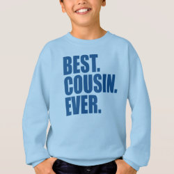 Best. Cousin. Ever. (blue) Kids' American Apparel Organic T-Shirt