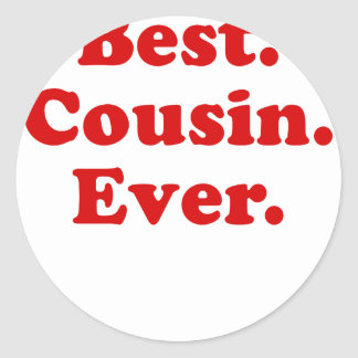 Best Cousin Ever Stickers