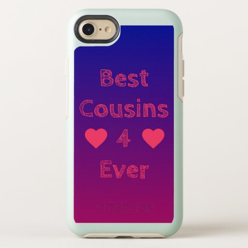 Best Cousins 4 Ever iPhone 7/8 otterbox case