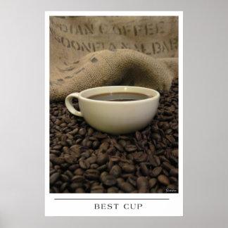 Best Cup - Send Coffee Art Print