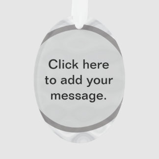 Best Customizable Gift Template Ornament