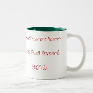 Best Dad Award coffee mug