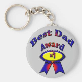 Best Dad Award Keychain